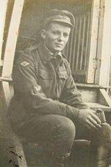 David James Garland during WWI.