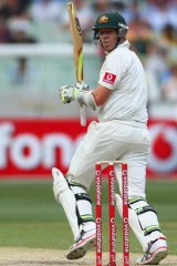 Peter Siddle during the recent second Test against Sri Lanka at the MCG.