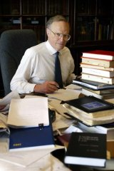 Solitary figure: Dyson Heydon shares his thoughts in an essay.