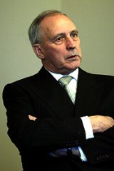 Speaking out: Former prime minister Paul Keating.