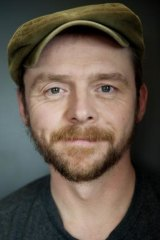 British actor, writer and comedian Simon Pegg aims to wake every day with a smile on his face.