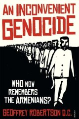 <i>An Inconvenient Genocide by Geoffrey Robertson</i>.