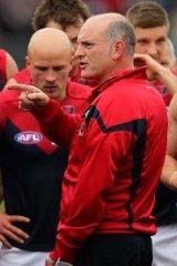 Regrets … sacked Melbourne coach Dean Bailey.