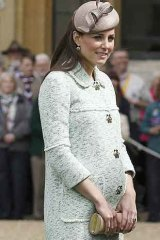 The Duchess of Cambridge last month.