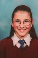 Katie Bender, a Year 7 student at St Clare's College Canberra, was 12 years of age, when she died after being struck by flying debris from the implosion of the Old Royal Canberra Hospital.