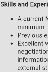 A job ad seen last week, which says applicants must already hold a top-secret-level clearance.