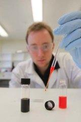 Solar paint developed at Melbourne University and CSIRO.
