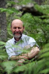 Nature's touch: Author Julian Davies lives in a rural retreat in Braidwood NSW.