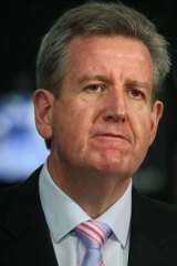 Liberal MPs to get a conscience vote ... Barry O'Farrell.
