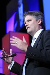 "Liberal Senator Mathias Cormann ... accused the Treasury of ""cherry-picking"" evidence."