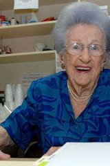 Randwick woman Vi Robbins is now Australia's oldest person.