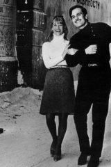 Julie Christie and Omar Sharif in <i>Doctor Zhivago</i>.