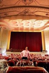 Benjamin Zeccola at his Palace Cinema.