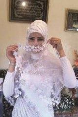 Lost at sea: Young bride, Manal Hamza.
