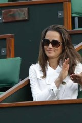 Stealing the spotlight ... Pippa Middleton's appearance at the French Open draws attention to an otherwise 'unseen' tournament.