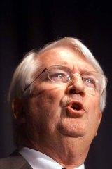 Head of Manufacturing Australia ... Dick Warburton.