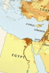 Where's Israel?