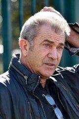 Back in Australia: Mel Gibson.