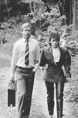 A long road to the truth ... Michael and Lindy Chamberlain during the Morling royal commission in 1986.
