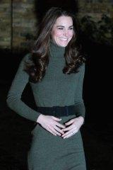 Pregnant ... the Duchess Of Cambridge.