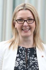 Senator Skye Kakoschke-Moore from the Nick Xenophon Team.