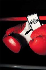 Red rag... It's better to air your grievances than resort to blows.