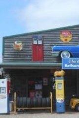 Charlie Schwerkolt's car museum.