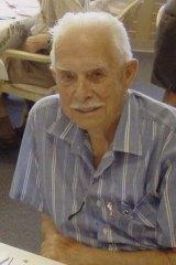 Ken Day, aged 87.
