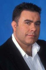 ABC radio personality Alan Saunders.