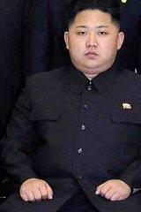 Kim the younger ... Kim Jong-un.