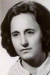 Elena Ceaucescu, wife of former Romanian dictator Nicolae Ceaucescu.
