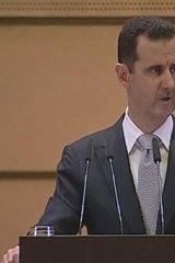 Syrian President Bashar al-Assad.