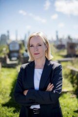 Quality cop show: Rebecca Gibney plays Detective Sergeant Eve Winter in <i>Winter</i>.