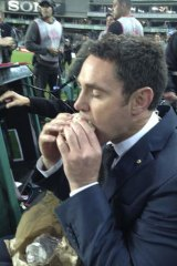 Meanwhile, Brad Fittler celebrated completing a fast for the Jewish holy day of Yom Kippur with a pork sandwich.