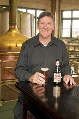 Cider House rules ... Malt Shovel chief brewer Tony Jones.