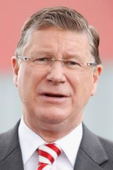 Victoria Premier Denis Napthine.