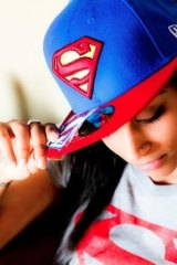 Streaming success: YouTube star Lilly Singh who goes by the handle of Superwoman.