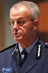 Queensland Police Commissioner Bob Atkinson.