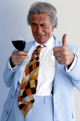 Ready for one last tour ... Sir Les Patterson.