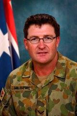 Lance Corporal Stjepan Milosevic, born in Penrith, NSW.