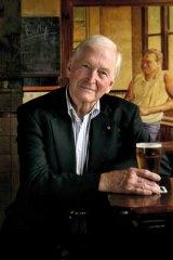 Bryce Courtenay at the William Wallace Pub, Balmain.