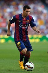 Lionel Messi converted in the 13th minute of added time during the the Catalan derby against Espanyol in 2008.