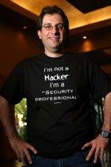Former hacker and fugitive ... Kevin Mitnick.