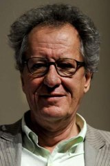 Signatory against foreign performers ... actor Geoffrey Rush.