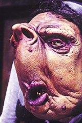 A Vogon from Hitchhiker's Guide to the Galaxy.