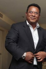 President of Nauru, Marcus Stephen.