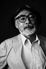 Anime maestro Hayao Miyazaki.