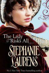 Ruby Award winner <i>The Lady Risks All</i> by Stephanie Laurens.