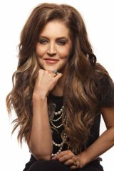 Songstress: Meeting fans gives Lisa Marie Presley ''a good high''.