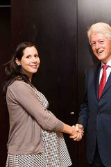 Elif Yavuz worked for the Clinton Foundation in Kenya, and in that role had been visited last month by former US president Bill Clinton.